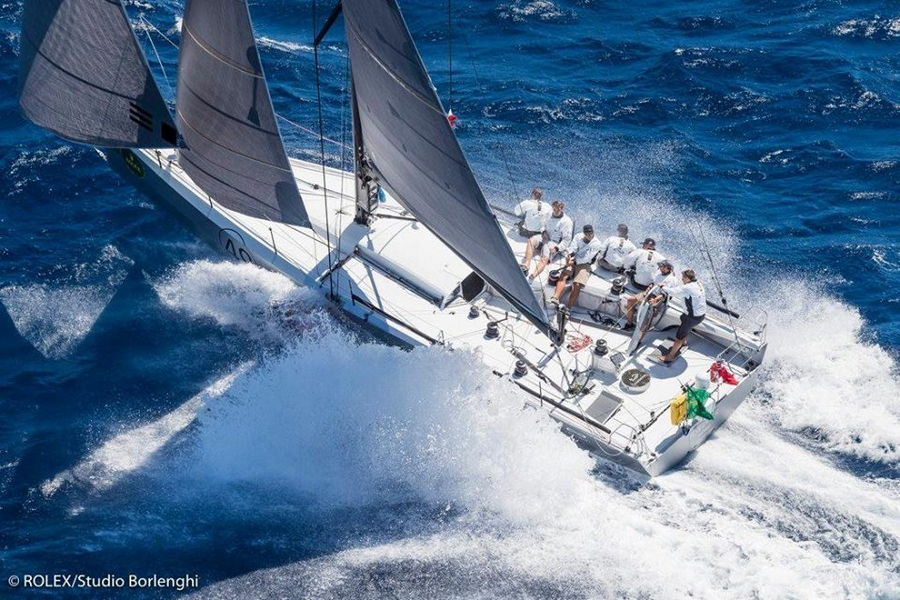 "Infiniti 46R ""Maverick"" secures podium place in Rolex Middle Sea Race"