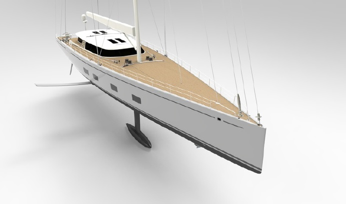 DSS FOIL GIVES PERFORMANCE EDGE TO GROUND-BREAKING BALTIC 142 CUSTOM