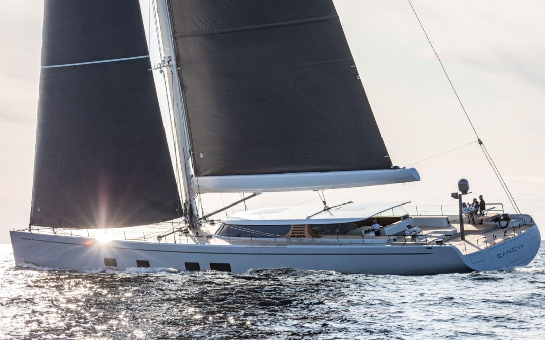 Inside the Baltic 142 Foiling Superyacht Canova