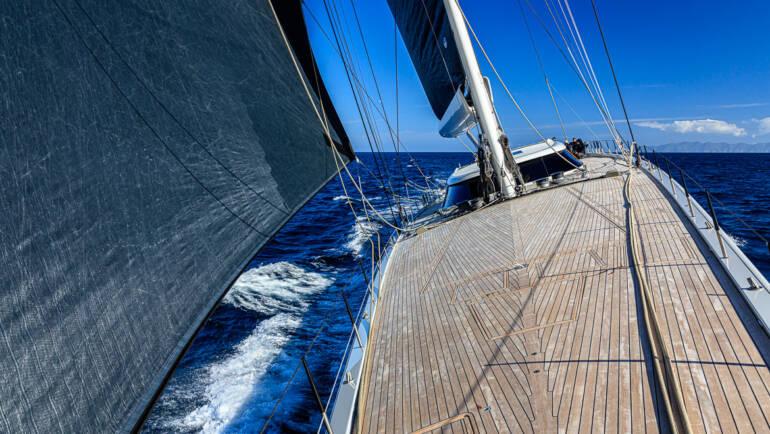 Sailing with Canova