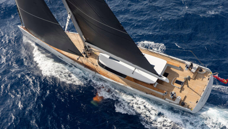 CANOVA WINS 'SAILING YACHT OF THE YEAR'