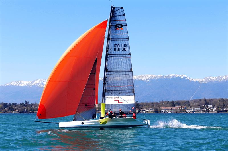 C-Tech pushes limits with new 35ft foiling European lake racer in multinational project